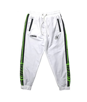 WHITE ORBIT TRACK BOTTOMS
