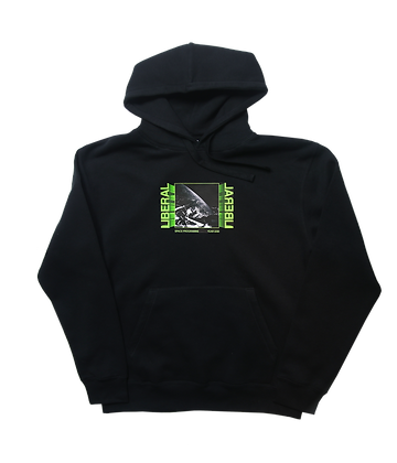 BLACK EARTH VIEW HOODIE