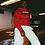 Thumbnail: RED BASICS HOODIE