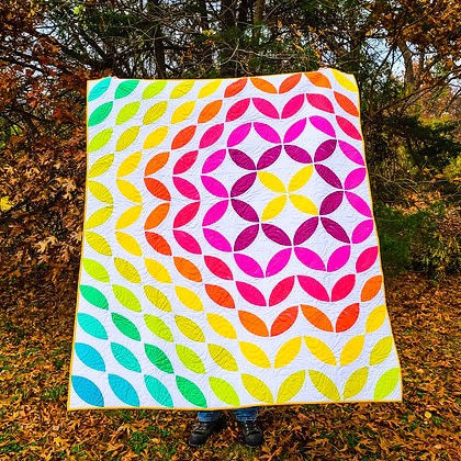 Sonic Bloom Quilt Pattern (Paper)