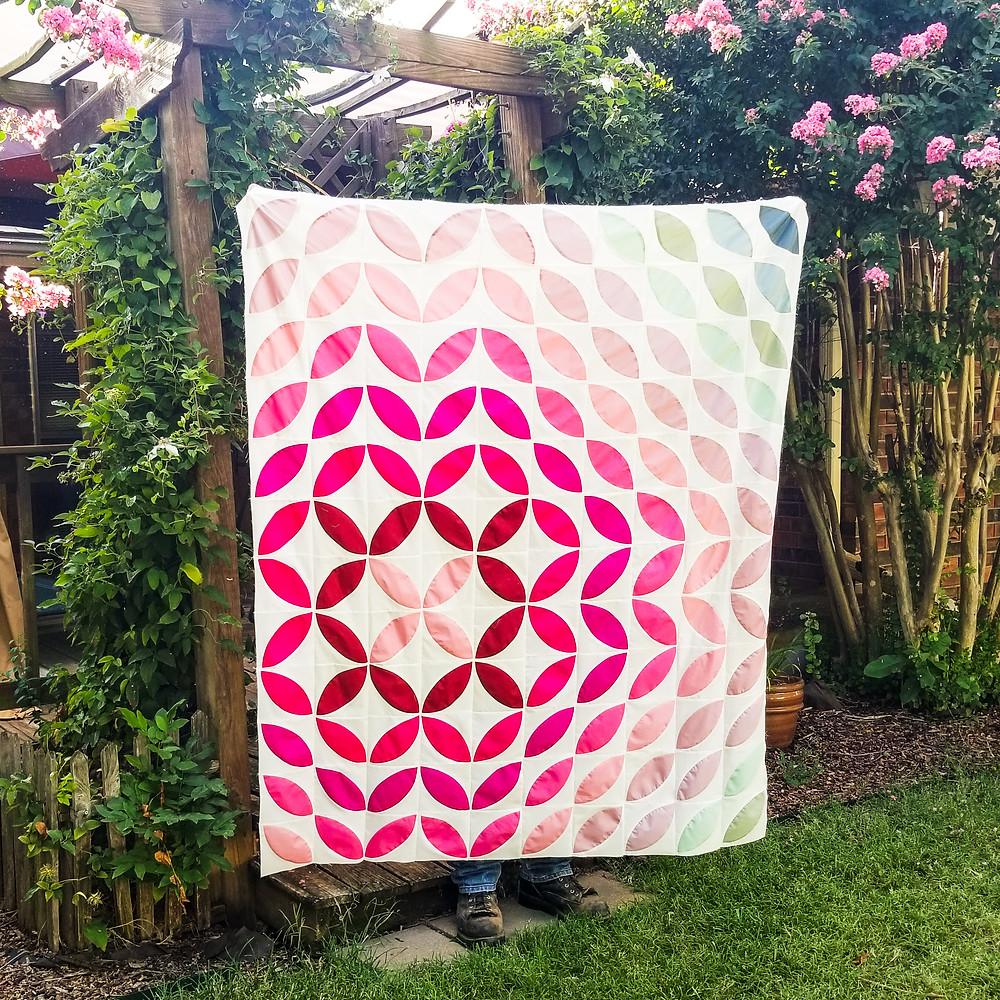pastel petal quilt