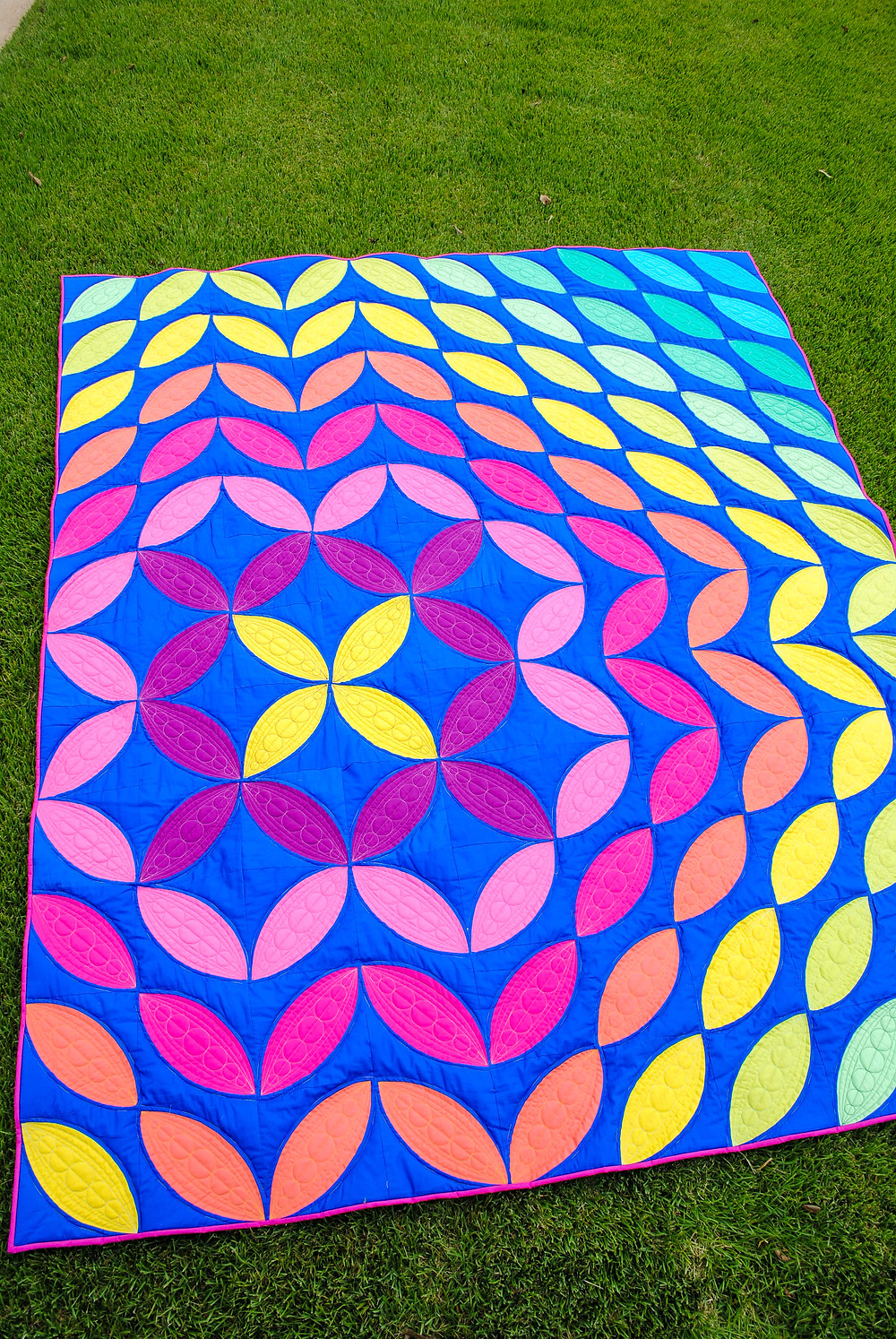 rainbow quilt sonic bloom