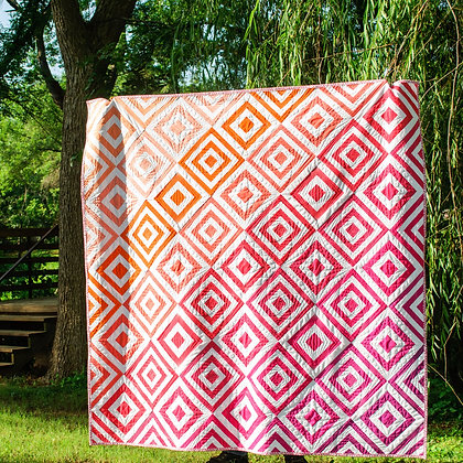 Fade To Fall Throw Quilt
