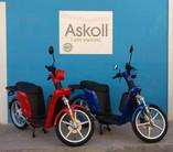 Askoll eS2 Blue e Rosso  lato