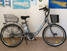 Bici elettrica Firenze con batteria da 1