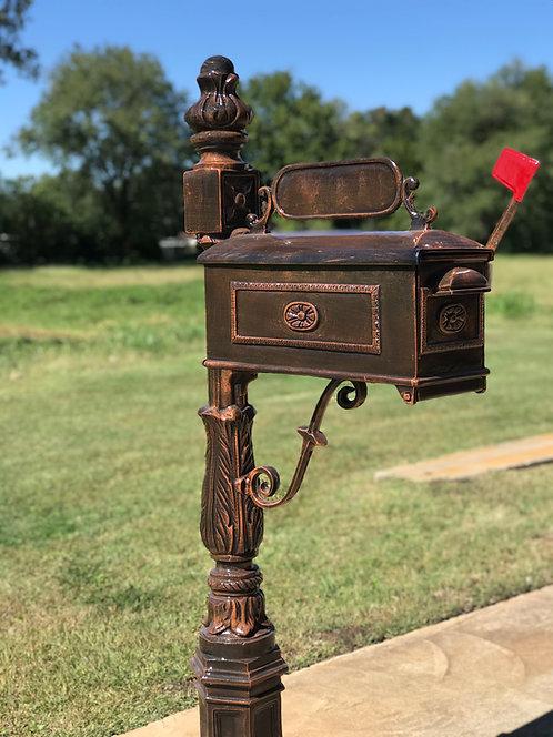 """Ames Mailbox H: 4'10"""""""