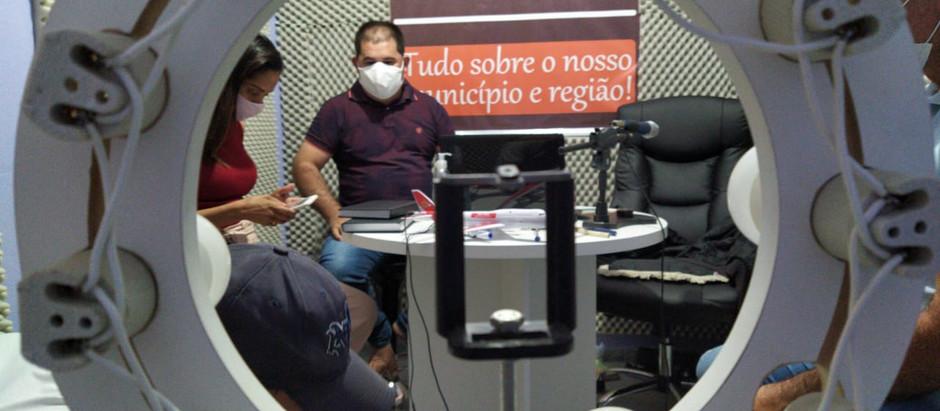 Bibi Alves tem trazido muitas informações em dias de Pandemia no Iguaracy Para O POVO