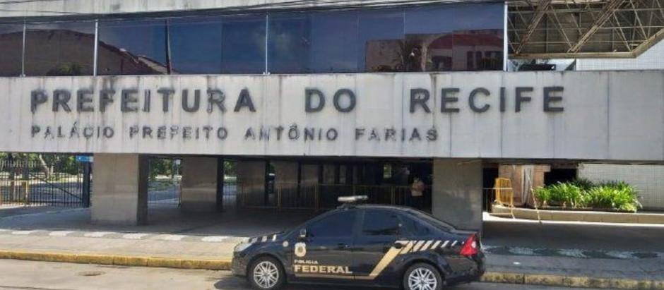 Polícia Federal cumpre 6 mandados por contratos de R$81 milhões para Covid19 da Prefeitura do Recife