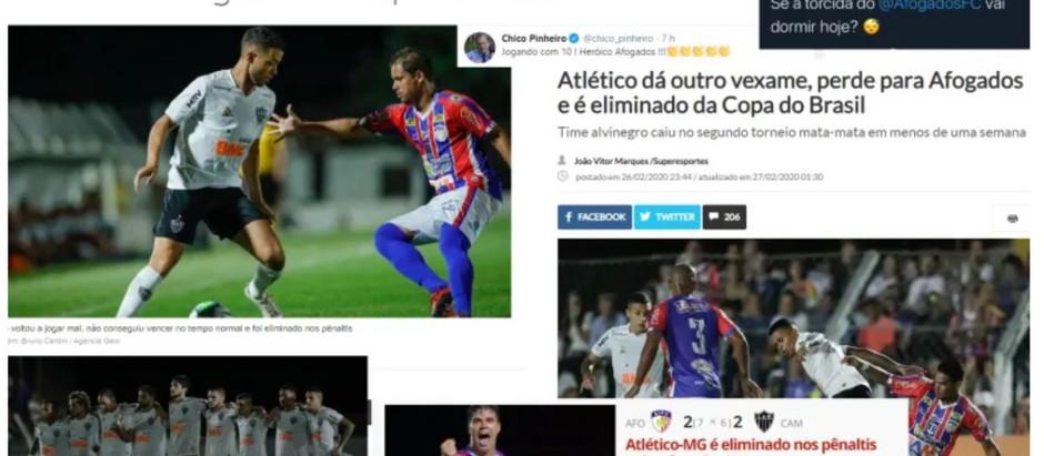 Time Afogadense ganha destaque nas manchetes da Rede Globo nessa manhã
