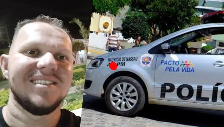 PREFEITURA COM USO DE VIATURA POLICIAL FECHA SALÃO DE TARCIO BARROS, TERÁ SIDO QUESTÃO POLÍTICA?