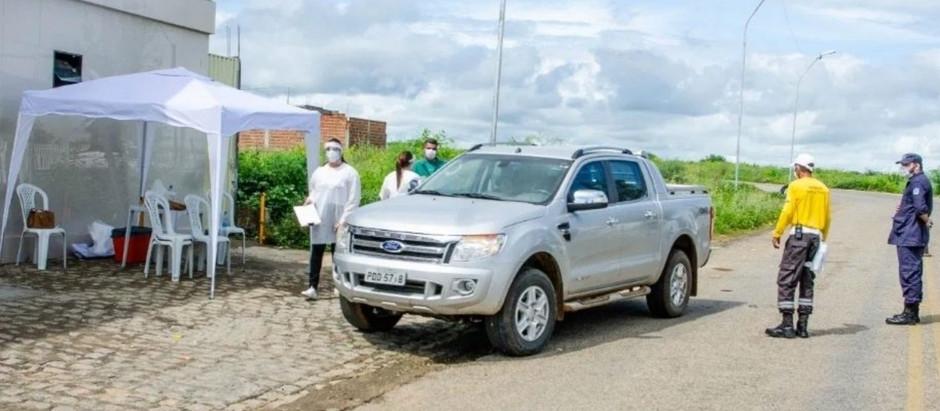 Barreiras Sanitárias em Serra Talhada identificaram 14 sintomáticos