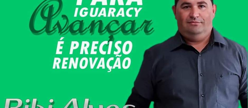 Críticas de Bibi Alves traz novos tempos para Iguaracy.