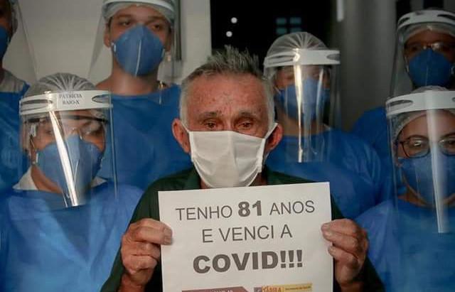 Senhor com 81 anos, de Brejinho, é curado do Covid-19