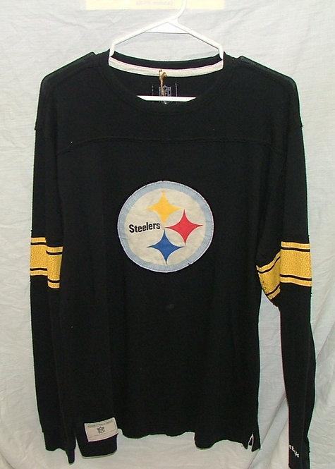 Black Long Sleeve Steeler Shirt