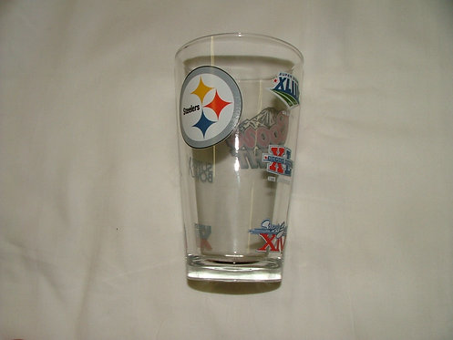 Steelers 6X Champs Glass