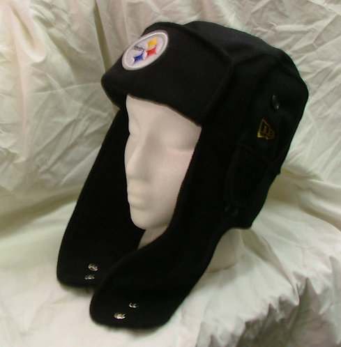 Plain Over-Ear Style Steelers Hat