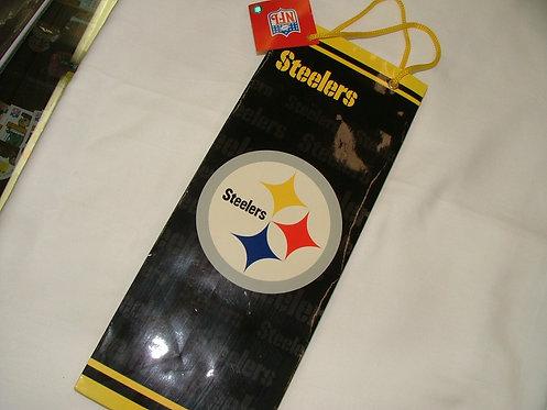 Steelers Wine Bottle Gift Bag