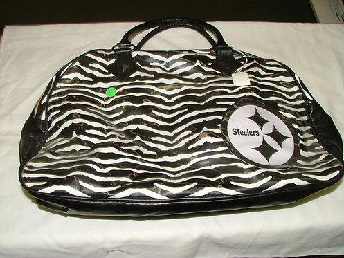 Large Zebra Tote Bag