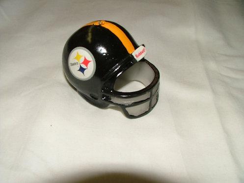 Steeler Helmet Mini Candle