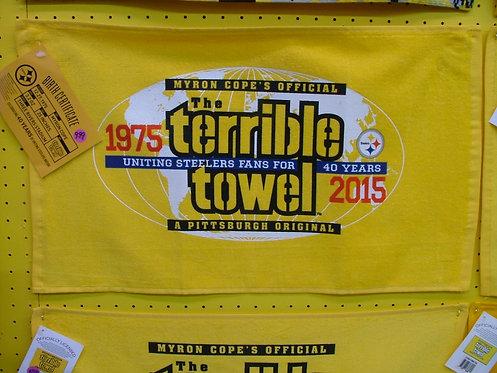 40th Anniversary Towel