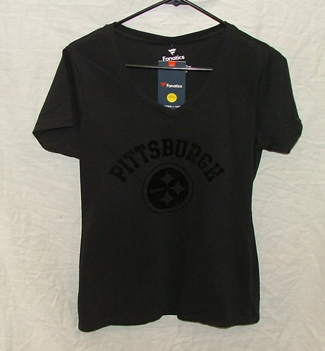 Womens Black VNeck