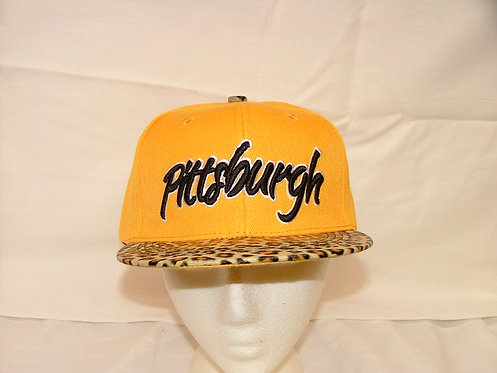 Leopard Pittsburgh Snapback