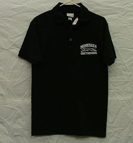 Black Monessen Polo Shirt