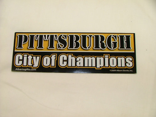 City of Champs Magnet