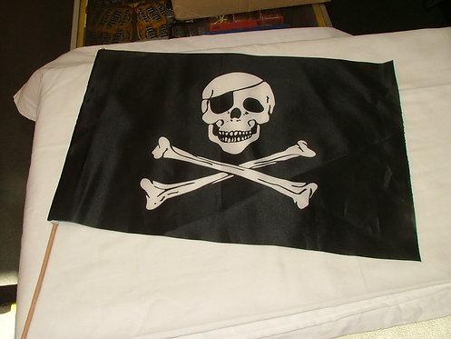 Skull Mini Flag