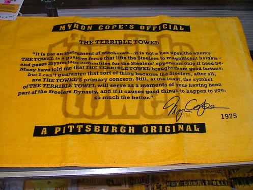 NEW Terrible Towel