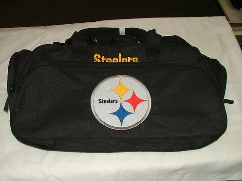 Black Steeler Tote Bag