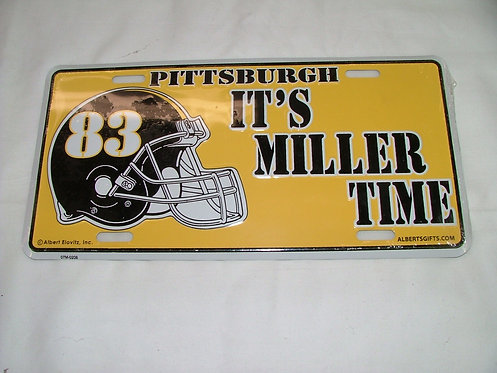 Miller License Plate