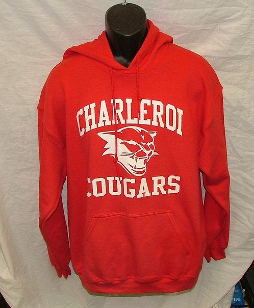 Adult Charleroi Cougar Hoodie