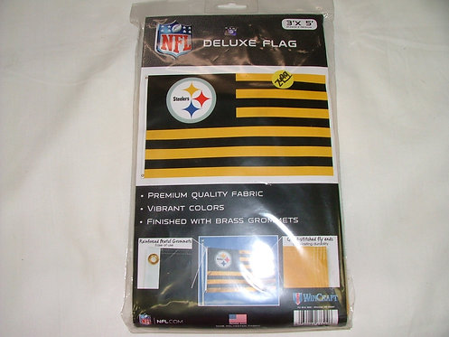 Striped Steeler Flag