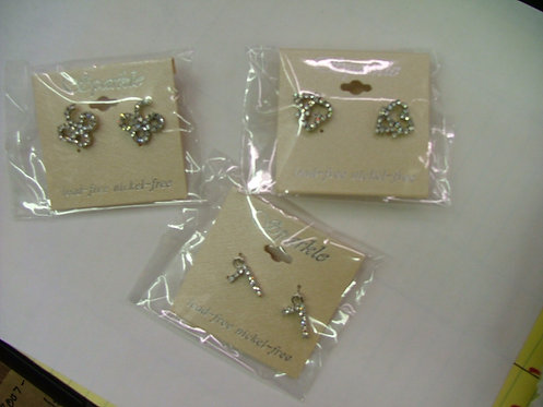 Jersey Number Earrings