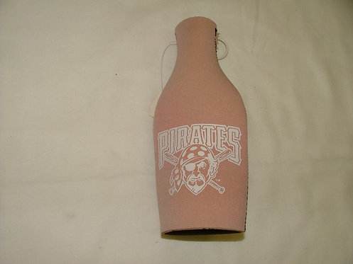 Pink Pirates Bottle Coozie