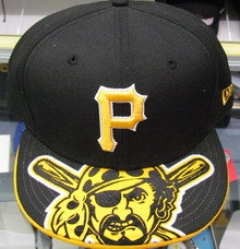Fitted Gold Pirate on Brim