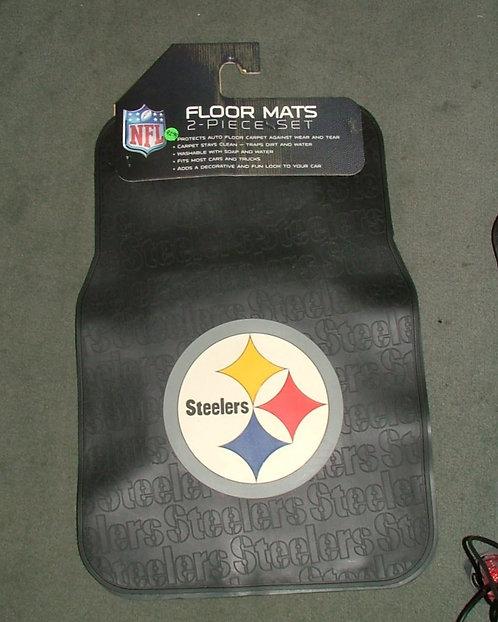 Steeler 2 Piece Floormat
