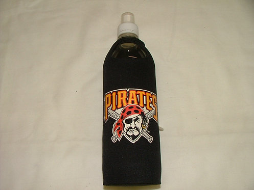Black Pirates Bottle Coozie