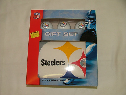 Steeler Golf Gift Set