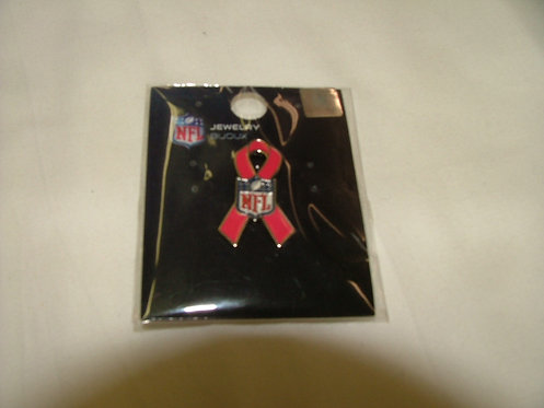 NFL Pink Ribbon Pin