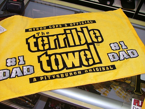 #1 Dad Towel