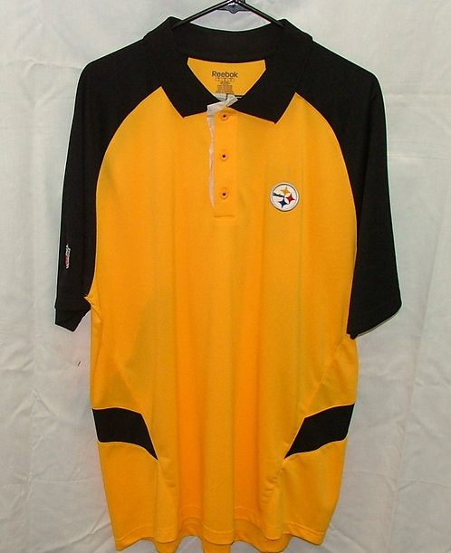 Black and Yellow Golf Shirt