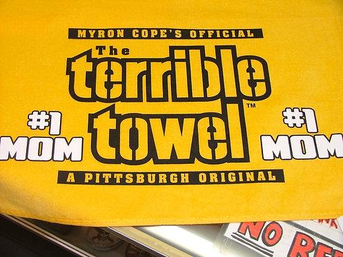 #1 Mom Towel