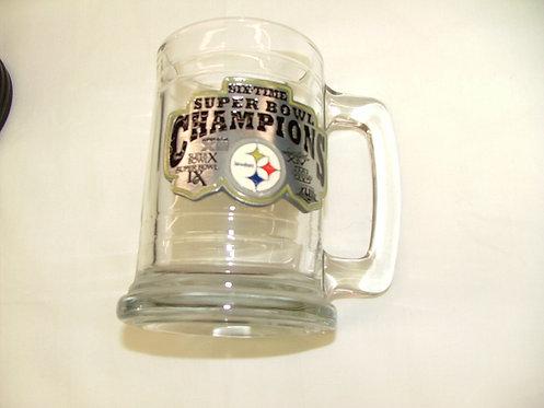 Steelers Glass Mug