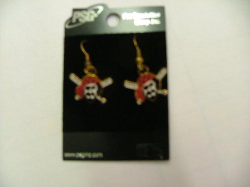 Pirate Logo Earrings
