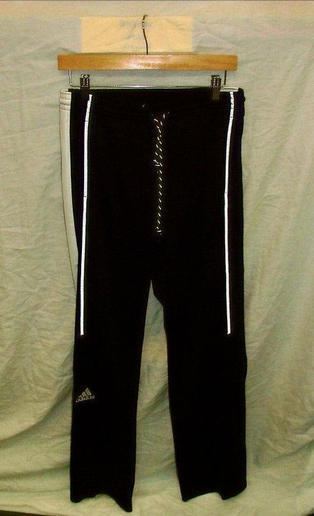 Mens Black Adidas Track Pant