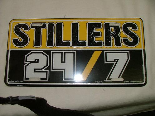 Stiller License Plate