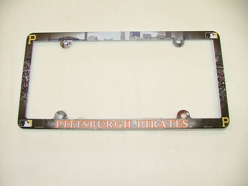 Plastic Pirates License Plate Frame