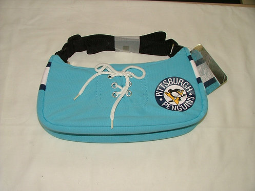 Small Blue Jersey Purse